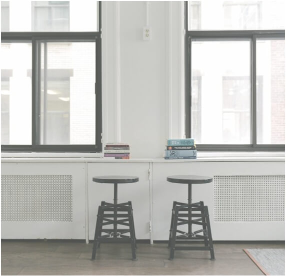 Real Estate building image chairs
